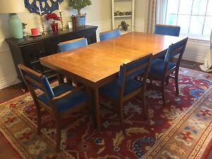 Mid-Century Modern Dining Table & Chairs