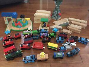 Thomas wooden train set