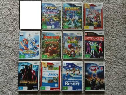 Wii Mario Sonic Zelda Kirby Sega Party 8 Super Galaxy Nintendo