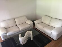 Leather Lounge Suite Allenby Gardens Charles Sturt Area Preview