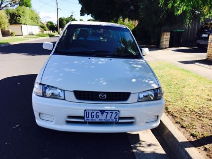 Mazda 121 auto with long rego