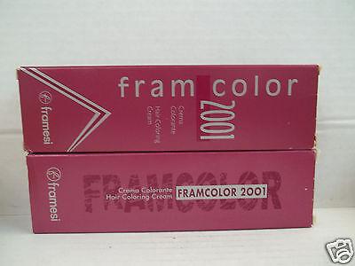 FRAMESI 2001 Framcolor Professional Hair Color ~ (Toner Shades 610 ~ 660) ~ 2 oz
