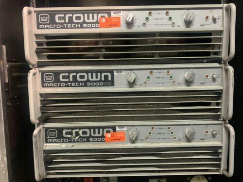 Crown Macro Tech 5000vz