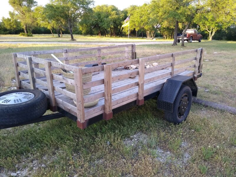 SINGLE AXLE UTILITY TRAILER 5X8 LOCATED IN TEXAS 76043 LOCAL PICKUP ONLY