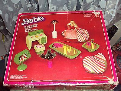 Barbie mod furniture set livingroom from 1978 no. 2151 European