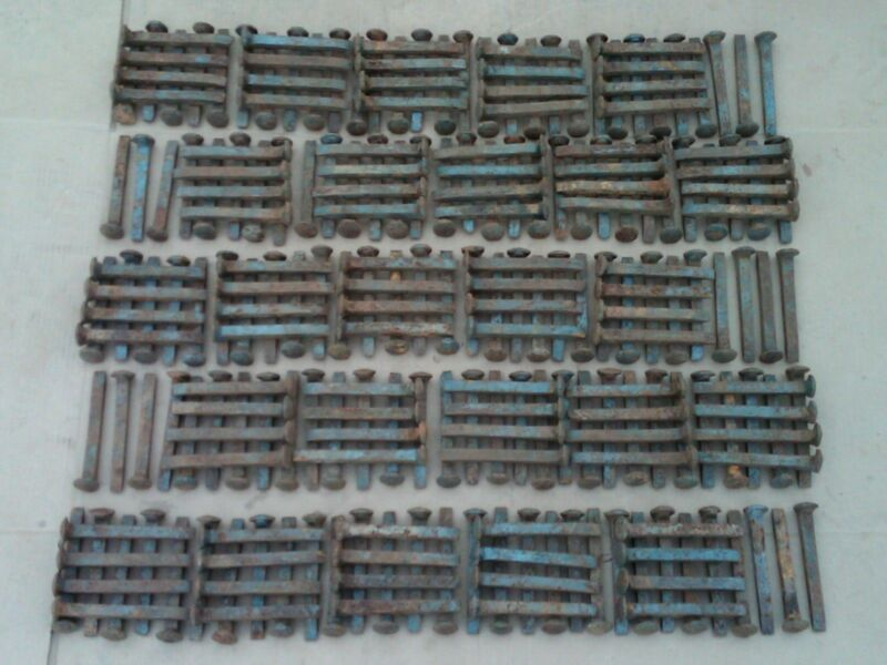 "250 Vintage Railroad Spikes Antique Blacksmith Train Track RR 6.5"" LOT OF 250"