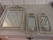 Shabby chic mirrors x3 Beresfield Newcastle Area Preview