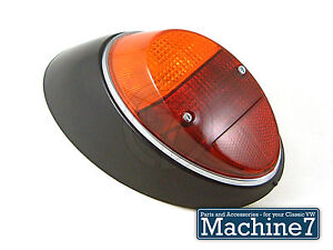 Rear Light Complete Left Bug 61-67 & 1200 Classic VW Aircooled Beetle Type 1