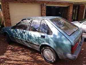 Holden Astra 1985 manual Ettalong Beach Gosford Area Preview