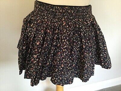 Jack Wills Ladies Blue Floral Mini Skirt Size 14. Great Condition., used for sale  Shipping to Ireland