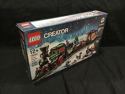 Lego Creator Expert set Christmas Winter Holiday Train 10254 New Sealed