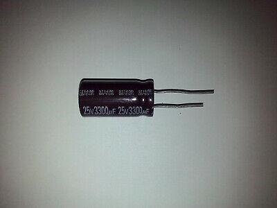 Taicon 3300 Uf 25 Volt Radial Lead Electrolytic Capacitorusa Seller