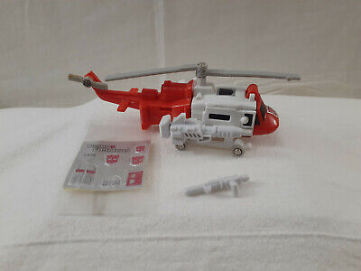 Transformers G1 Generation 1 Protectobot Blades 100% Complete with sticker sheet