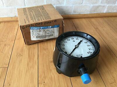 Ashcroft Duragauge 45-1259-rsh-04l-60 4-12 Pressure Gauge 60 Psi