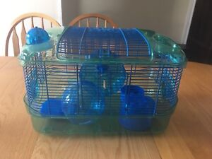Dwarf Hamster Cage & Accessories