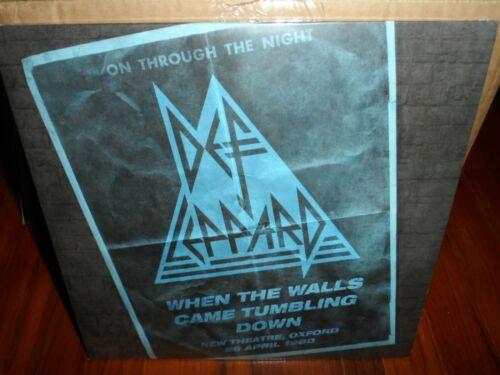Def Leppard - When the Walls Came Tumbling Down Oxford 1980 LP 2021 RSD