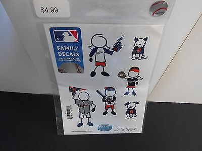 Detroit Tigers package of Family Decals. 6 assorted Decals  SP101/82 Detroit Tigers Family Decal