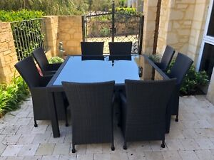 8 seater Outdoor dining setting ( Segals) | Outdoor Dining ...