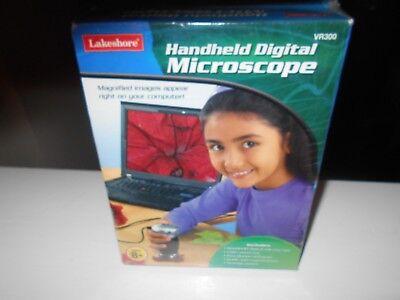 Lakeshore Hand Held Digital Microscope New Sealed Free Shipping