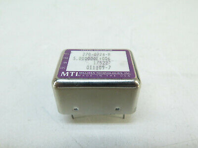 Mti 270-02240-b Rev. B - 5.000 Mhz Ocxo