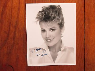 Vanna  White   Wheel Of Fortune   Signed  8 X 10  Glossy Black And White  Photo