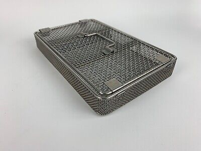 Aesculap Jf374stainless Sterilization Tray 10.5in. X 6in.