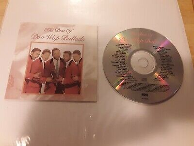 The Best Of Doo Wop Ballads CD Compact Disc NO CASE ONLY
