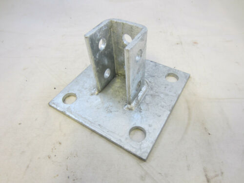 B-LINE STYLE STRUT POST BASE HOT DIP GALVENIZED B280SQ-HDG