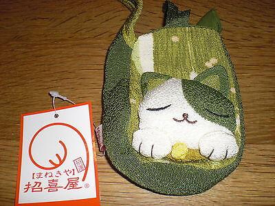"""Super Hingucker aus Japan. """"Manekineko"""" Glücksbringer- Katze als Handytasche!"""