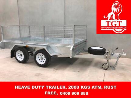 10x5 FULLY WELDED HOT DIP GALVANISED TRAILER