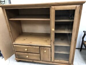 Country pine cabinet