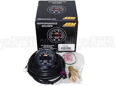 AEM 30-0306 X-Series Electronic 35PSI/2.5BAR Turbo Boost Pressure Gauge Meter
