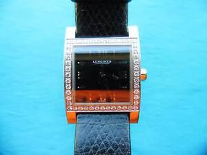Longines Dolce Vita, diamond set bezel, Womens. Great cond. Hillarys Joondalup Area Preview