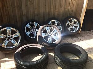 5 -wk2 Jeep Grand Cherokee srt wheels and 2 -wk limited rims Tarneit Wyndham Area Preview
