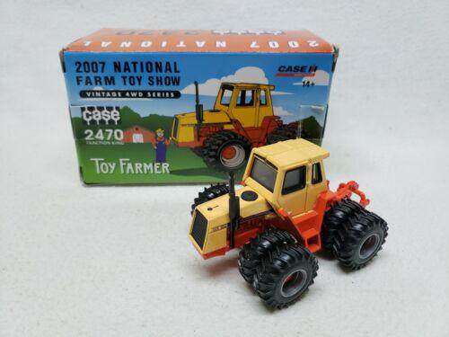 2007 TOY FARMER 1:64 ERTL Case Ih International 2470 4WD Tractor NIB 2007 NFTS