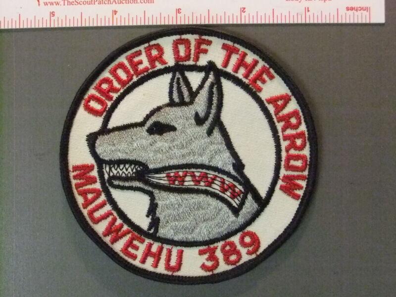 Boy Scout OA 389 Mauwehu round 6686JJ