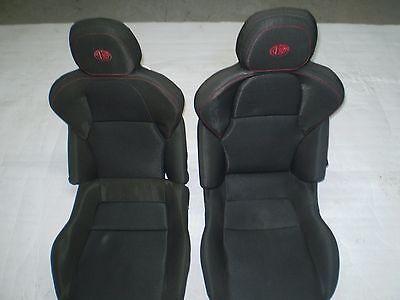 Pair Seats Sport Fabric Fabric Alfa Romeo 4C Like IN Photo