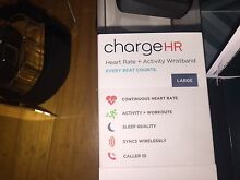 FITBIT ChargeHR  HERT RATE + activity wristband LARGE Modbury Tea Tree Gully Area Preview