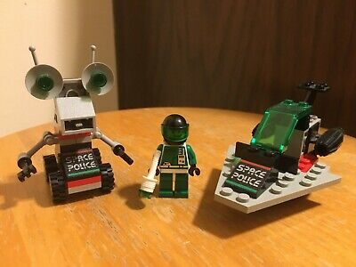 Lego space police sets with minifigure vintage system space