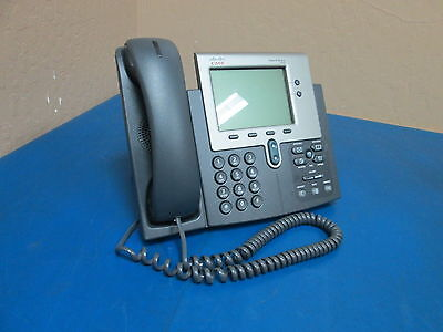 Cisco Systems 7940 Cp-7940g Ip Business Phone Sn Fch1233805a