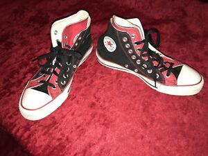 Converse men's 7.5 or fit women's 9.5