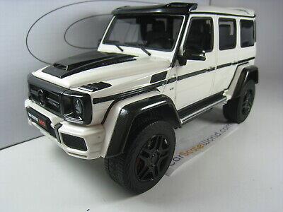 BRABUS 500 4X4² - MERCEDES BENZ G500 4X4² 1/18 GT SPIRIT (WHITE)