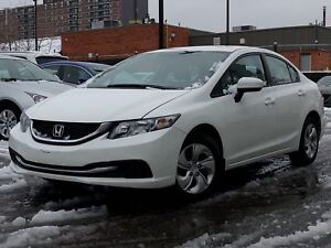 2015 Honda Civic Sedan LX, low kms|1 OWNR|great condition