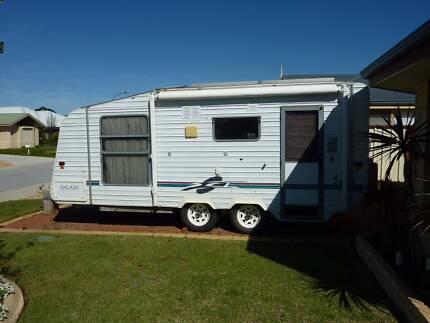 Scenic Galaxy Caravan Tandem 2001 Solar, A/C $19000 NEG Wattle Grove Kalamunda Area Preview