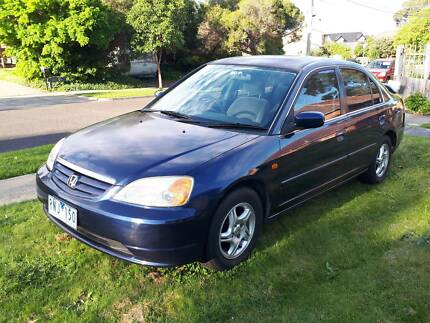2002 Honda Civic Manual, 142,000kms