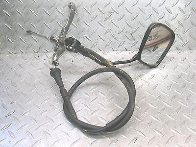 DR350 SUZUKI 1996 DR 350 96 CLUTCH PERCH CABLE LEVER MIRROR