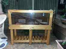 Reptile Snake Lizard Python Enclosure Tank Large Deluxe Burleigh Waters Gold Coast South Preview
