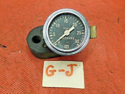 Stewart Warner, Fuel Inlet Pressure Gauge, Original, !!