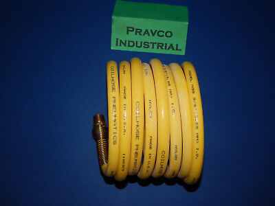 Coilhose Pneumatics Model N38 3 8   375   12 Coiled Air Hose