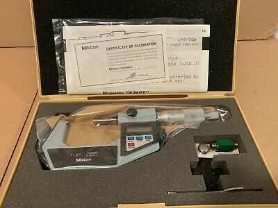 Mitutoyo 293-722 Digimatic Micrometer 1-2 Range.000050.001mm New In Open Box
